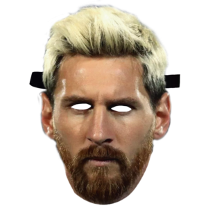 Caretas Messi rubio
